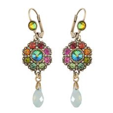 Michal Negrin Floral La Vita Earrings