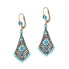 Michal Negrin Blue Beauty Earrings