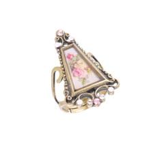 Michal Negrin Pink Rose Ring