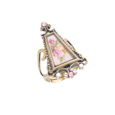Michal Negrin Pink Rose Ring