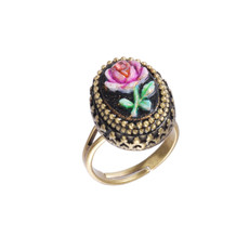 Michal Negrin Beautiful Rose Ring