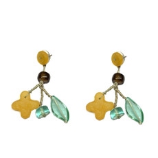 Lalo Blue and Brown Joy Earrings