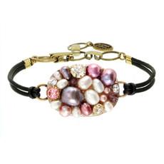 Michal Golan Jewelry Oval Pendant Earrings