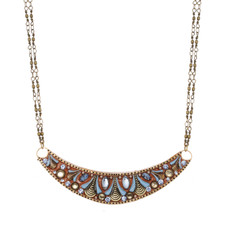 Brown Half Moon necklace from Michal Golan Jewelry