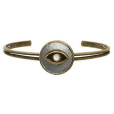 Eye Cuff bracelet from Michal Golan Jewelry