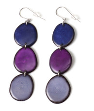 Purple Encanto Jewelry Aurora Exotic Earrings