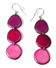 Encanto Pink Aurora Orchid Earrings