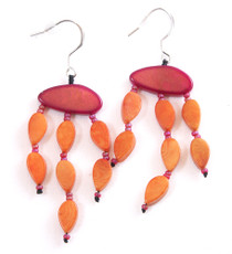 Encanto Jewellery Maky Orange Earrings