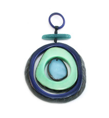 Encanto Jewellery Espirale Aqua Necklace