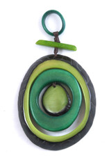 Green Encanto Jewelry Espirale Avocado Necklace