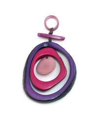 Encanto Purple Espirale Orchid Necklace