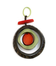 Encanto Jewelry Espirale Terra Brown Necklace