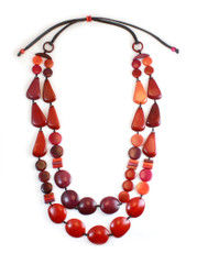 Red Encanto Jewelry Freya Sunset Necklace