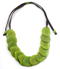 Green Gallet Avocado necklace from Encanto Jewelry