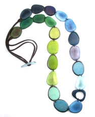 Encanto Jewellery Kaleidoscope Aqua Necklace