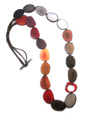 Kaleidoscope Terra necklace from Encanto Jewelry
