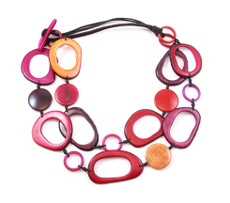 Encanto Jewellery Kayuna Sunset Red Necklace
