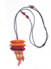 Encanto Jewelry Maky Orange Necklace