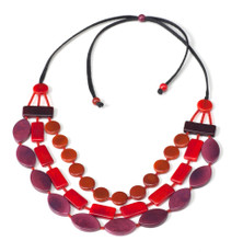 Encanto Red Selena Pomegranate Necklace