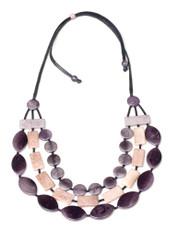 Encanto Semilla Black Necklace Selena River Rock