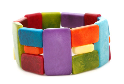 Link Rainbow bracelet from Encanto Jewelry