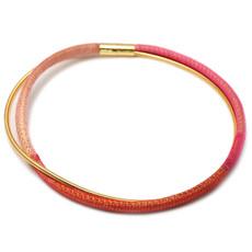 Anat Collection Red Necklete Necklace Bracelet