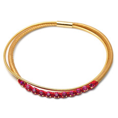 Fucsia Anat Jewelry Fuchsia Necklete Necklace Bracelet