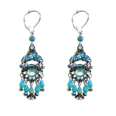 Ayala Bar Turquoise Dreams Blue French Wire Earrings