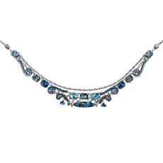 Blue Ayala Bar Mediterranean Love Necklace