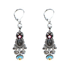 Ayala Bar Silver Capricorn French Wire Earrings