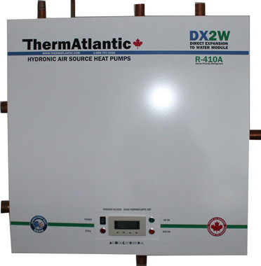 "Our Residential DX2W-2 wall hung module (24""x24""x14"")."
