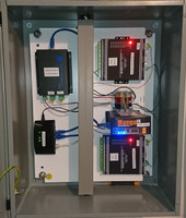 This is a tenant sub-metering control panel designed to support over 300 tenant sub-metering thermostats connected to over 2100 sensors.