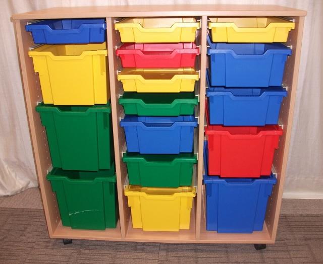 School tray storage units