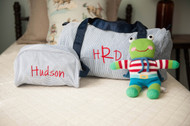 On the Road Again!   Personalized Mint Traveler and Duffel