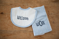 Baby Gift Sets | 3 Marthas Bib and Burp