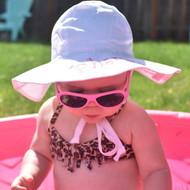 Sun hat and Babiators
