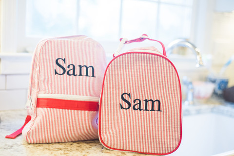 Mint Backpack and Lunch Box Set | Personalized