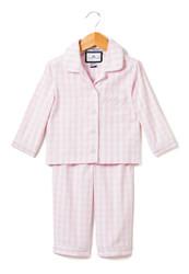 Monogrammed Pink Gingham Pajamas