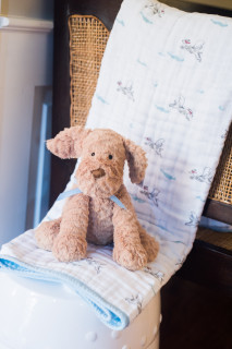 Who Let the Dogs Out Gift Set | Dream Blanket and Jellycat Fuddle Wuddle