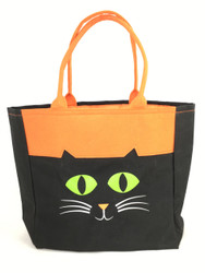 Personalized Halloween Bag   Cat