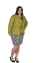 Green Multifunctional Blazer