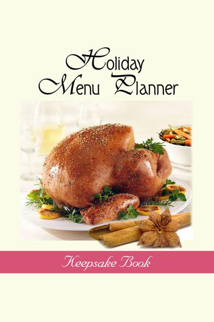 Holiday Menu Planner Keepsake Book
