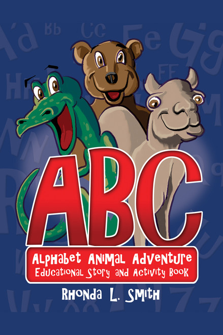 Alphabet Animal Adventure: Educational Story and Activity Book