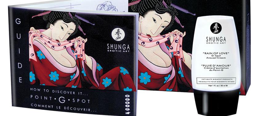 Shunga Erotic Art Rain of Love G-Spot Cream