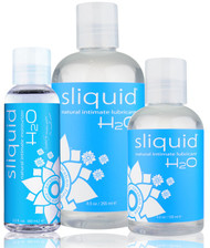 Naturals H2O Intimate Water Based Lubricant by Sliquid