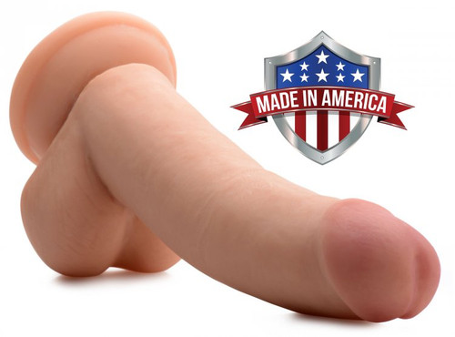 Jacob SkinTech Realistic 8 Inch Dildo by TrueTouch