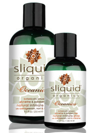 Organics Oceanics Natural Water Based Lubricant by Sliquid