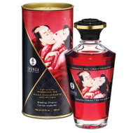 Aphrodisiac Warming Oil by Shunga Erotic Art-Blazing Cherry