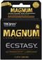 Trojan Magnum Ecstasy Lubricated Condoms 3 Pack