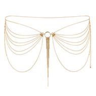 Bijoux Indiscrets-The Magnifique Collection Metallic Waist Jewelry-Gold